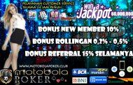 Agen Poker Bank Bri CashBack Besar