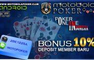 Bonus Deposit di Agen Poker Terbaik